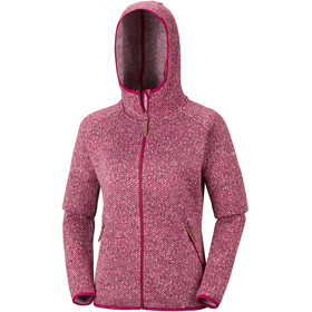 Columbia Chillin Fleece Non Hooded Jacket Women Pomegranate